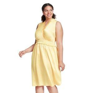 Catherine Malandrino Stella Dress In Saffron